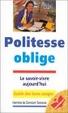 Cover of Politesse oblige