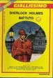 Cover of Sherlock Holmes battuto