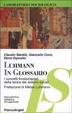Cover of Luhmann in glossario