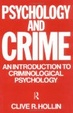 Cover of Psychology and Crime
