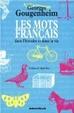 Cover of Les mots français
