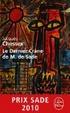 Cover of Le dernier crâne de M. de Sade