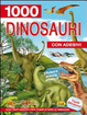 Cover of Mille dinosauri. Con adesivi