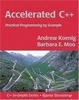 Cover of Accelerated C++
