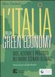 Cover of L'Italia della green economy. Idee, aziende e prodotti nei nuovi scenari globali