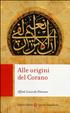 Cover of Alle origini del Corano