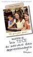 Cover of Un projet pour mettre les TICE au service des apprentissages