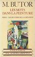 Cover of Les mots dans la peinture