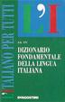 Cover of Dizionario fondamentale della lingua italiana
