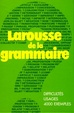 Cover of Larousse de la grammaire