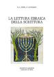 Cover of La lettura ebraica della scrittura