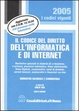 Cover of Il codice del diritto dell'informatica e di Internet