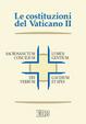Cover of Le costituzioni del Vaticano II