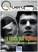 Cover of Query n. 25, anno VII, Primavera 2016