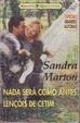 Cover of Nada será como antes - Lençóis de Cetim
