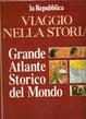 Cover of Grande atlante storico del mondo
