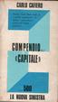 Cover of Compendio del capitale