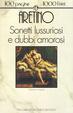 Cover of Sonetti lussuriosi e dubbi amorosi