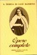Cover of Opere complete di S. Teresa di Gesù Bambino e del volto santo