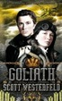 Cover of Goliath (tercera parte de la trilogía Leviathan), de Scott Westerfeld