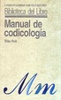 Cover of Manual de Codicología