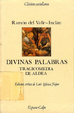 Cover of Divinas palabras