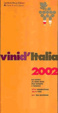 Cover of Vini d'Italia 2002