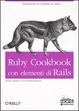 Cover of Ruby Cookbook con elementi di Rails