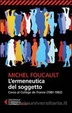 Cover of L'ermeneutica del soggetto