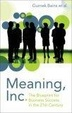 Cover of Meaning, Inc.