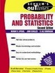 Cover of Schaum's Outline of Probability and Statistics