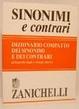 Cover of Dizionario compatto dei sinonimi e dei contrari