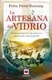 Cover of La artesana del vidrio