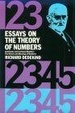 Cover of Essays on the Theory of Numbers