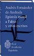 Cover of Epístola moral a Fabio y otros escritos