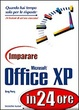 Cover of Imparare Microsoft Office XP in 24 ore