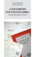 Cover of «Colloquio con i vecchi libri»