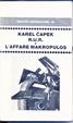 Cover of RUR e L'affare Makropulos