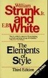 Cover of The Elements of Style, Third Edition