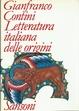Cover of Letteratura italiana delle origini