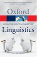 Cover of The Concise Oxford Dictionary of Linguistics