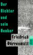 Cover of Der Richter und sein Henker