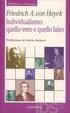 Cover of Individualismo: quello vero e quello falso