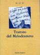 Cover of Trattato del melodramma