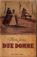 Cover of Due donne