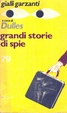 Cover of Grandi storie di spie