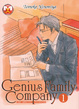 Cover of Genius Family Company vol. 1