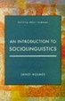 Cover of An Introduction to Sociolinguistics
