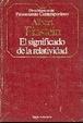 Cover of El significado de la Relatividad