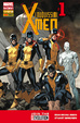 Cover of I nuovissimi X-Men n. 1